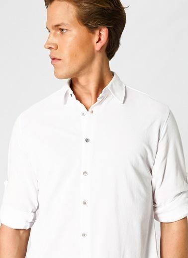 Twister Gömlek Beyaz